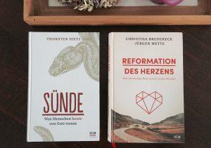Doppelbuchschau: Sünde (Dietz) und Reformation (Brudereck/Mette)